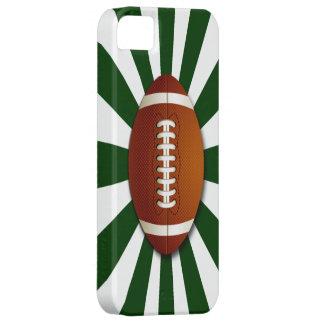 El equipo verde y blanco colorea fútbol iPhone 5 coberturas