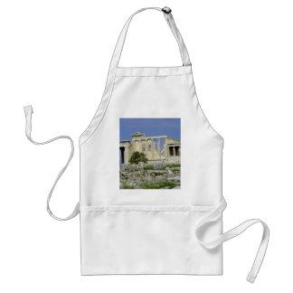 El Erechtheum en la acrópolis, Grecia Delantales