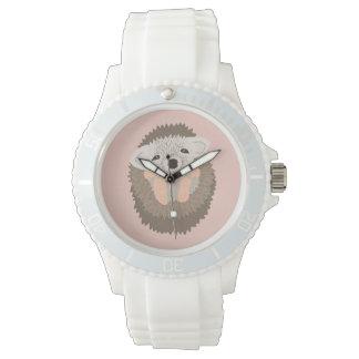 ¡El erizo enano es TAN lindo! Relojes