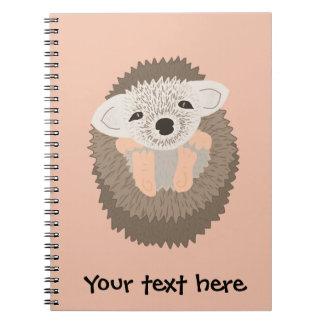 ¡El erizo enano es TAN lindo! Spiral Notebooks