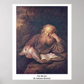 El ermitaño de Salomon Koninck Impresiones