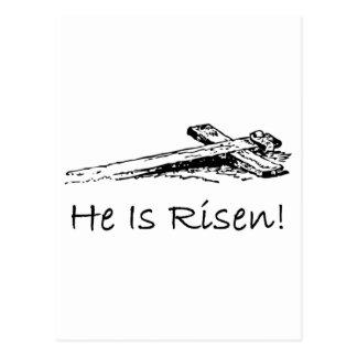 Él es cruz santa subida postales