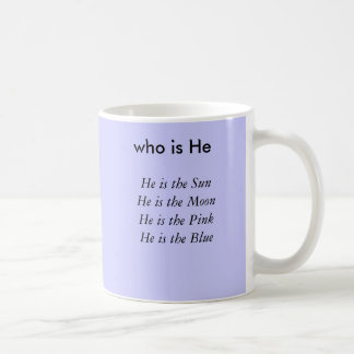 Él es el SightHe es el VisionHe es G precioso… Taza De Café
