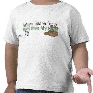 Él es también mi héroe camisetas