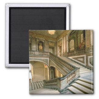 El Escalier de la Reine (la escalera de la reina)  Imán Cuadrado