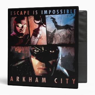 """El escape de la ciudad de Arkham es imposible Carpeta 1 1/2"""""""