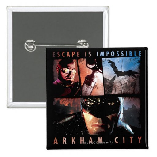 El escape de la ciudad de Arkham es imposible Pins