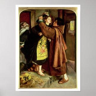 El escape de un hereje, 1559, 1857 (aceite en lona impresiones