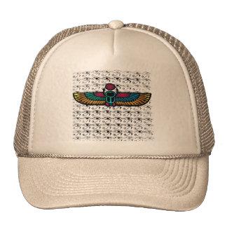 El escarabajo irradia el casquillo gorras