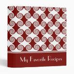 El escarlata remolina libro de la receta