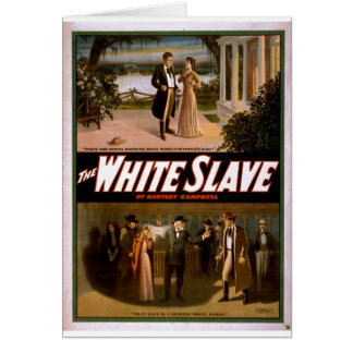 El esclavo blanco de Bartley Campbell 1911 Felicitaciones