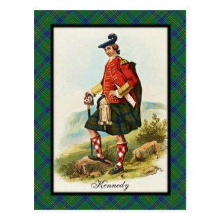 El escocés de Kennedy del clan soña la postal