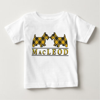 El escocés de MacLeod del clan persigue el tartán Playera