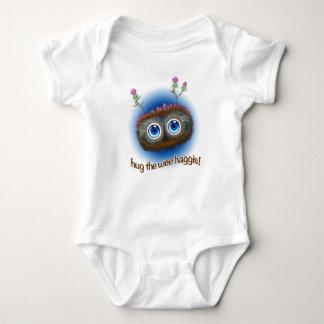 El escocés 'Hoots los toques de bocina Haggis Body Para Bebé