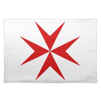 El escocés Knights la cruz de Templar Mantel Individual