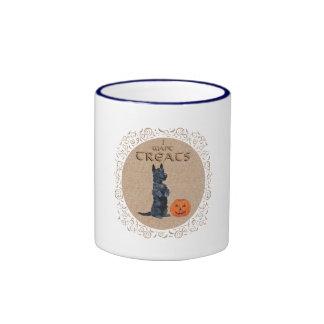 ¡El escocés Terrier se incorpora para las invitaci Taza A Dos Colores