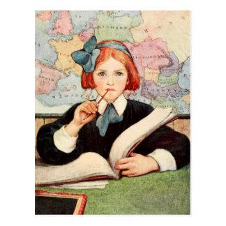 El escolar tarjetas postales