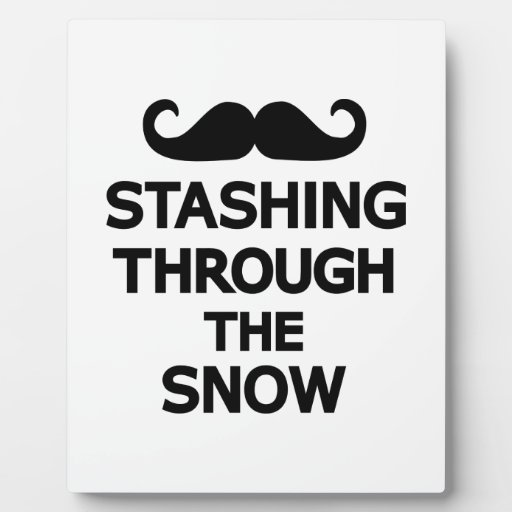 El esconder a través de la nieve placas