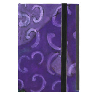 El escondite, cielo magenta rosado púrpura iPad mini protector