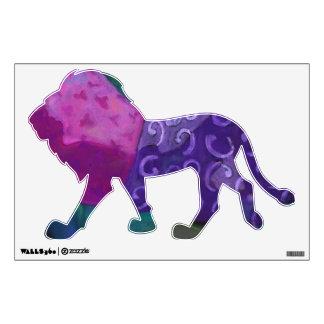 El escondite - cielo púrpura y magenta abstracto