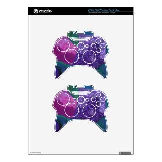 El escondite - cielo púrpura y magenta abstracto mando xbox 360 skin