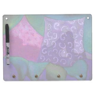 El escondite - cielo púrpura y magenta abstracto pizarra