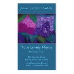 El escondite, cielo rosado púrpura del trullo tarjetas de visita