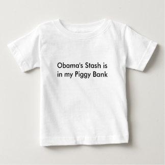 El escondite de Obama está en mi hucha Remeras