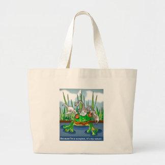 El escorpión y la rana bolsas