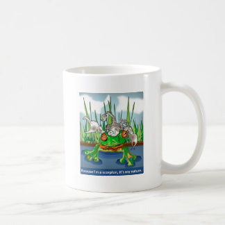 El escorpión y la rana tazas de café