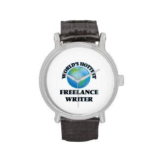 El escritor free lance más caliente del mundo relojes de pulsera