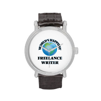 El escritor free lance más feliz del mundo reloj