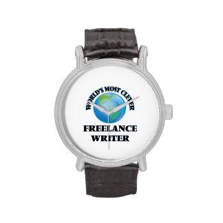 El escritor free lance más listo del mundo relojes
