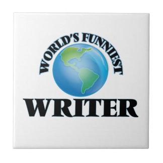 El escritor más divertido del mundo azulejo cerámica