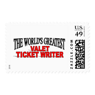 El escritor más grande del boleto del ayudante de sellos