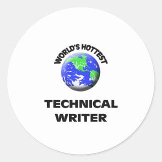 El escritor técnico más caliente del mundo etiqueta