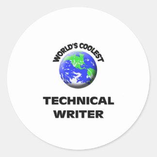 El escritor técnico más fresco del mundo etiquetas