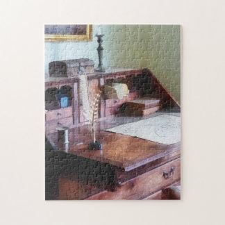 El escritorio del cartógrafo puzzles