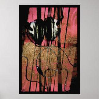 El escuchar Niebla-rojo Impresiones