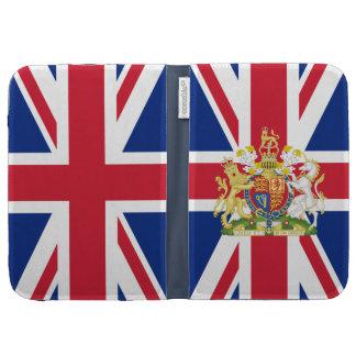 El escudo de armas de la MOD Union Jack enciende l