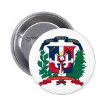 El escudo de armas de la República Dominicana HACE Pins