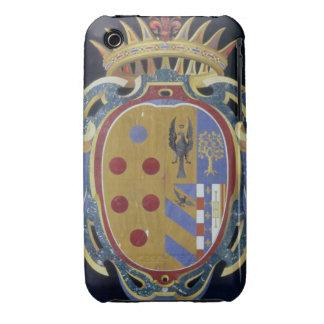 El escudo de armas de Medici-Lorena, c.1638 (dur Case-Mate iPhone 3 Funda