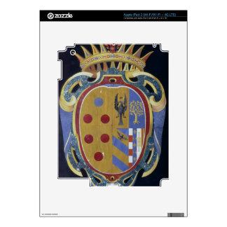 El escudo de armas de Medici-Lorena, c.1638 (dur d Pegatinas Skins Para iPad 3