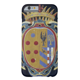 El escudo de armas de Medici-Lorena, c.1638 (dur Funda De iPhone 6 Barely There