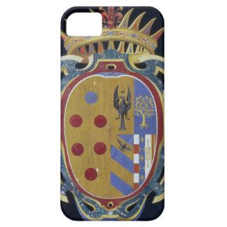 El escudo de armas de Medici-Lorena, c.1638 (dur iPhone 5 Carcasas