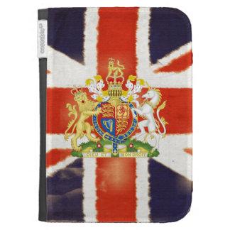 El escudo de armas de Union Jack del vintage encie