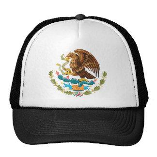 El escudo de armas del símbolo de México Gorra