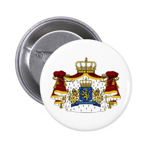 El escudo de armas holandés pin