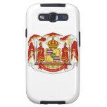 El escudo de armas real del Reino de Hawaii Samsung Galaxy S3 Protectores