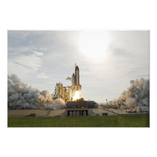 El esfuerzo del transbordador espacial quita 6 impresiones fotográficas